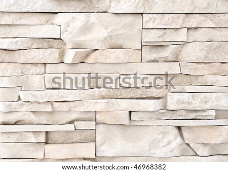 Brick stone exterior and interior decoration building material for wall finishing stock photo Materials for exterior walls