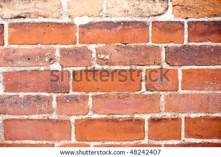 Brick Stones, a structure called Wendischer Verband, in an old medievel church in northern Germany.