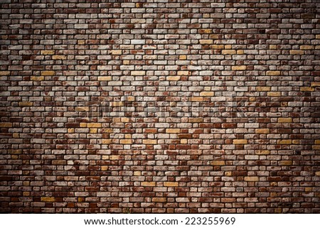 Brick Texture, Wall - stock photo