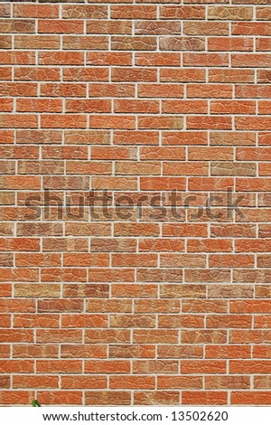 Brick wall 2 - stock photo