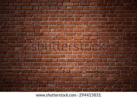 Brick Wall - stock photo