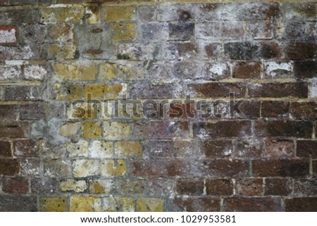 Brick wall background.