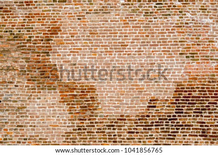 Brick wall, background