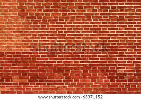 brick wall background - stock photo