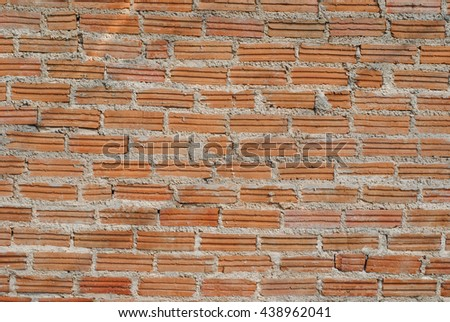 brick wall background color red old brown pattern stone block wallpaper retro