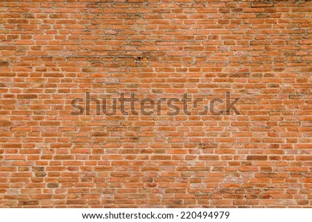 Brick wall background/Texture - stock photo