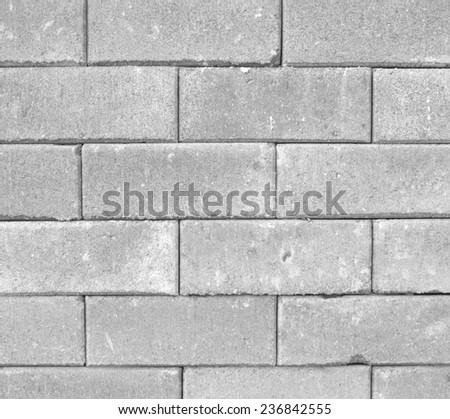 Brick wall background texture blocks. - stock photo