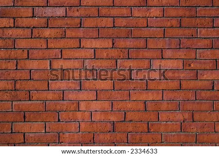 Brick Wall Closeup - stock photo