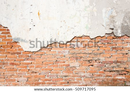 Brick wall cracks