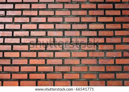 Brick Wall of ancient remains. - stock photo