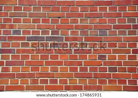 brick wall pattern - stock photo