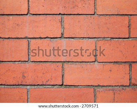 Brick wall pattern for use as background or texture