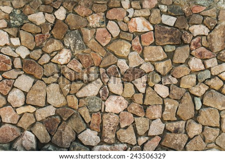 brick wall, perfect as a background - stock photo