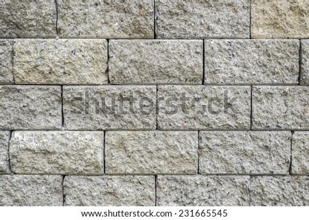 brick wall seamless background - texture pattern - stock photo