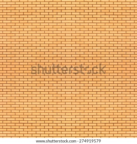 brick wall seamless texture - stock photo
