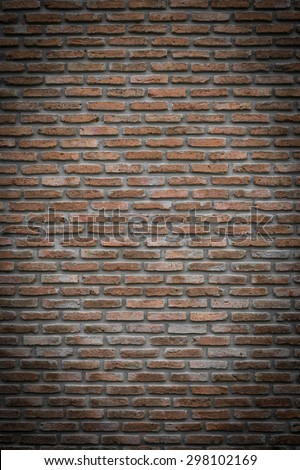 brick wall texture, background - stock photo