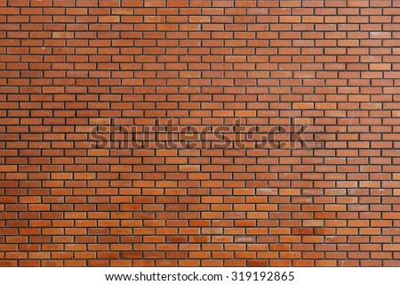 brick wall texture background material of industry construction - stock photo