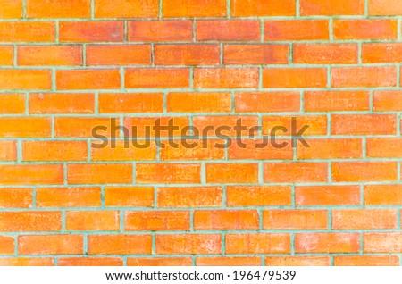 Brick wall textures - stock photo