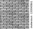 Bricks 03 Bump Map - stock photo