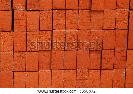 bricks two - stock photo
