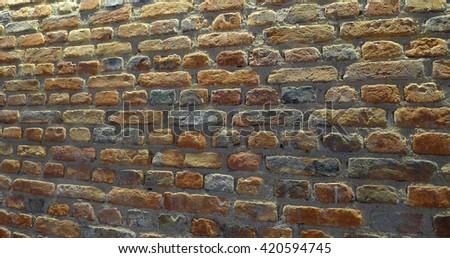 Bricks Wall background - stock photo