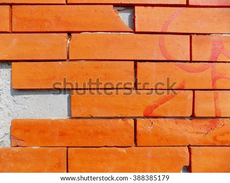 Bricks wall texture