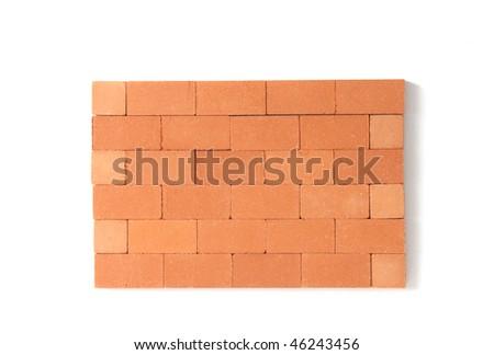 brickwall detail - stock photo