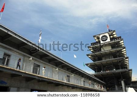 Brickyard 400 a NASCAR race at the Indianapolis Motor Speedway - stock photo