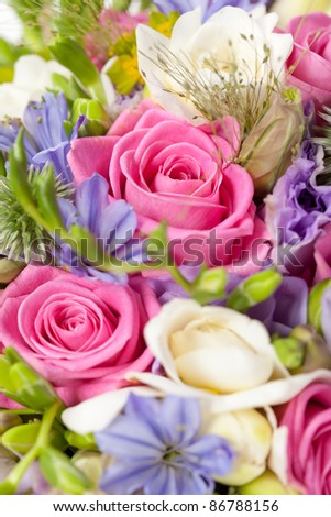Bridal Bouquet - stock photo