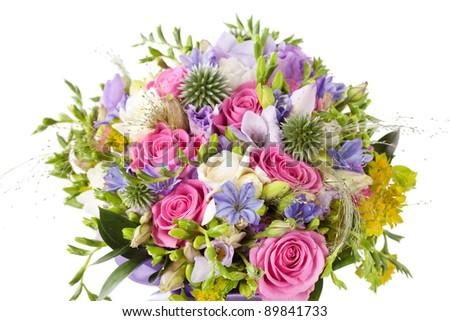Bridal Bouquet - stock photo
