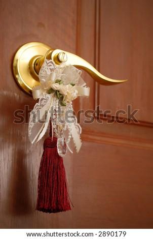 Bridal door - stock photo