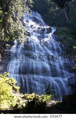 Bridal Veil Falls, British Columbia
