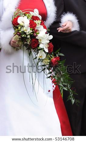 Bride detail - stock photo