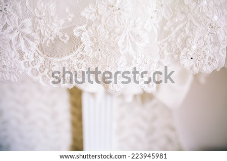 Bridesmaid Dress - stock photo
