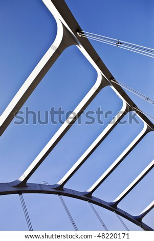 bridge abstract - stock photo