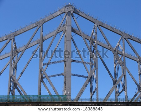 Bridge detail - stock photo