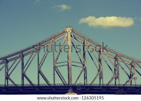 Bridge of Brisbane, Australia - stock photo