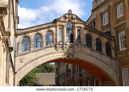 Bridge of Sighs, Oxford - stock photo