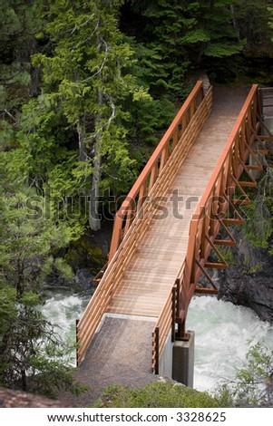 bridge over - stock photo