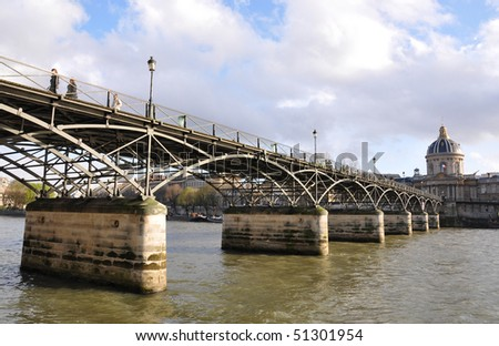 Bridge over Seine, Paris