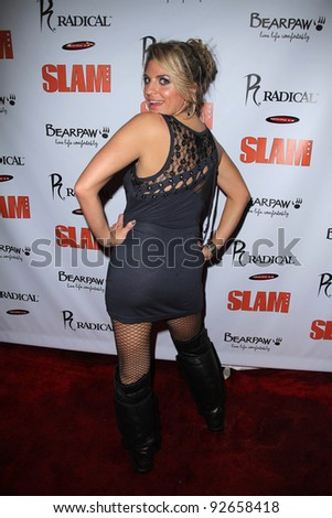 Bridgetta Tomarchio at the Sportie LA All-Star Gifting Suite, Sportie LA, Hollywood, CA. 02-19-11