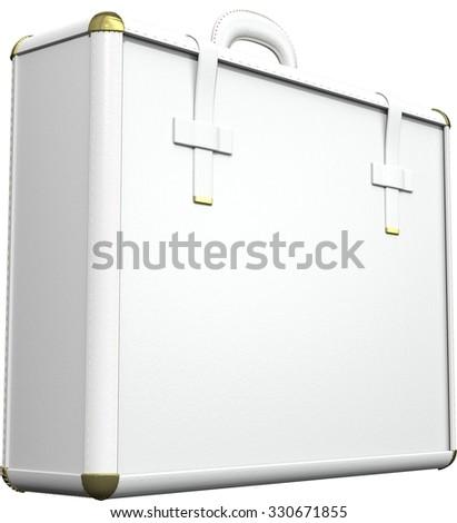 Briefcase/luggage - stock photo