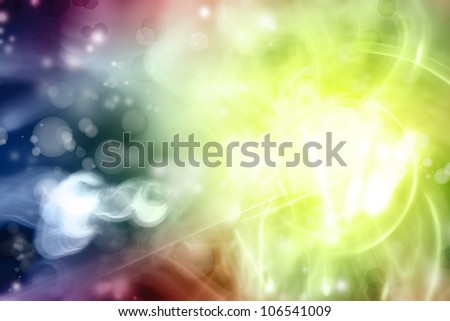 Bright abstract background. Copy space - stock photo
