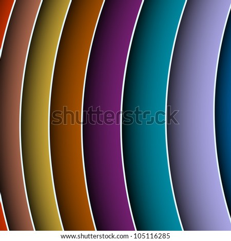 Bright abstract background .Raster version - stock photo