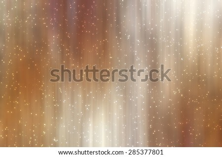 Bright abstract brown background with glitter - stock photo