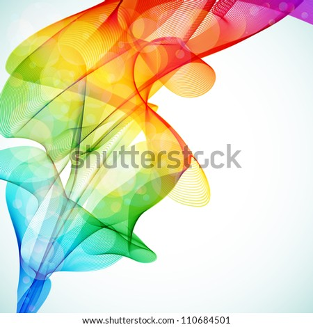 Bright abstract colorful background. - stock photo