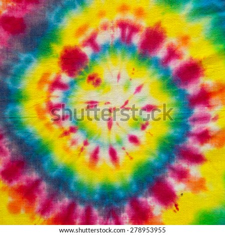 Bright abstract colorful background made of a blurred spectral spiral with hypnotic effect - stock photo