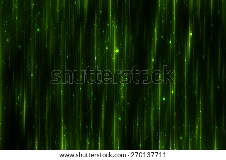 Bright abstract green background with glitter - stock photo