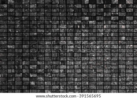 Bright abstract mosaic grey background with gloss