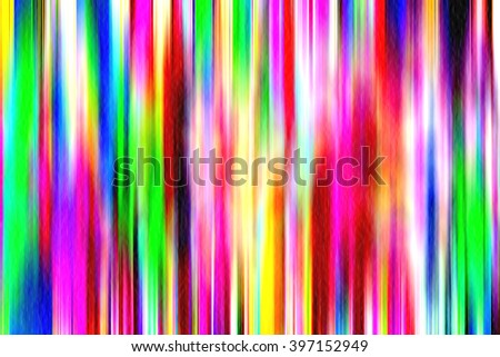 Bright abstract multicolored background with motion blur - stock photo